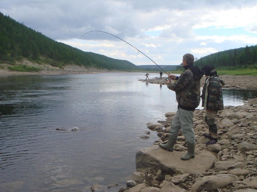 койгера река рыбалка